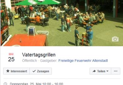 Safe the Date: Vatertagsgrillen