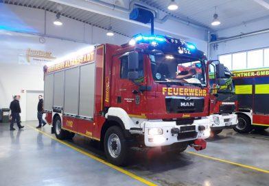 Neuer Rüstwagen für die Feuerwehr Altenstadt