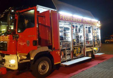 Neuer Rüstwagen der Feuerwehr Altenstadt