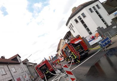 Hausbrand in Altenstadt